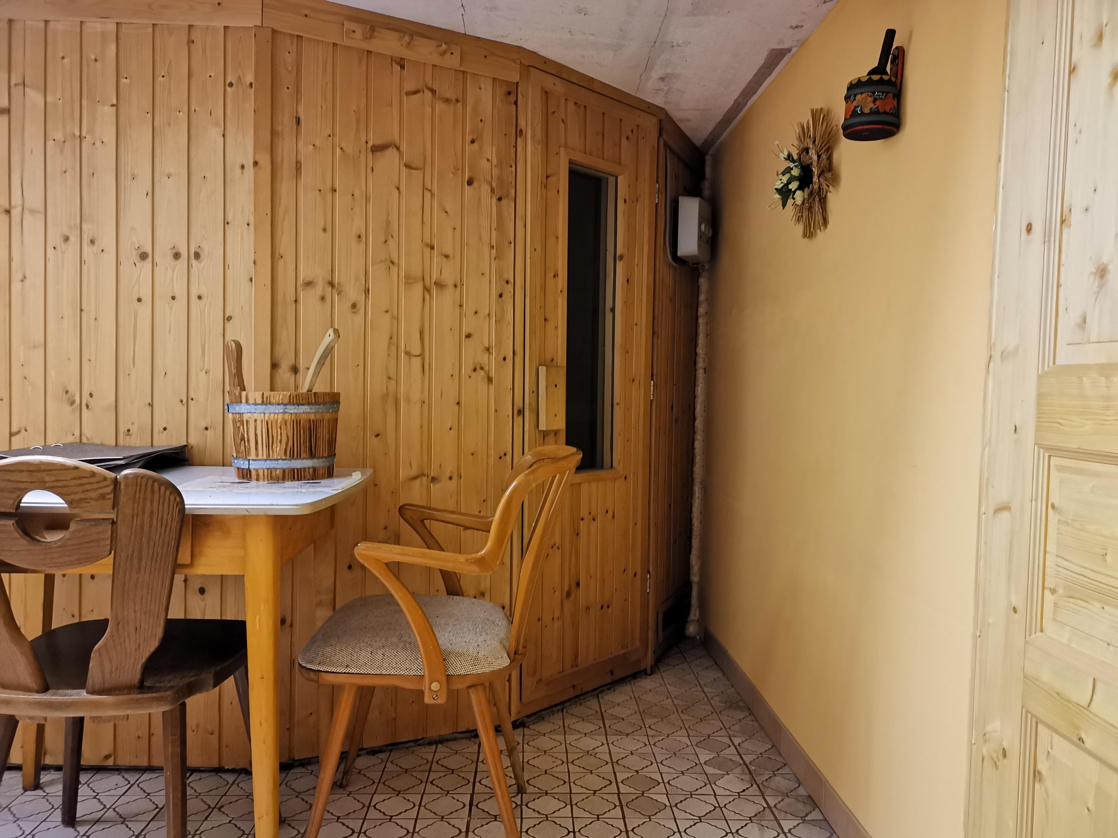 Sauna im Keller: