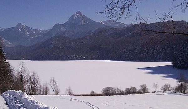 Weissensee im Winter: