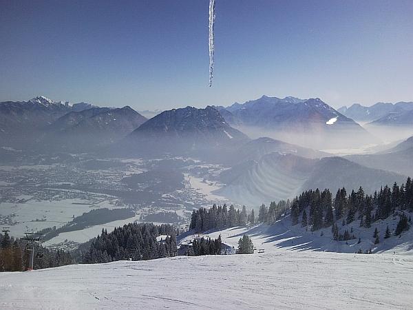 nahegelegenes Skiparadis: