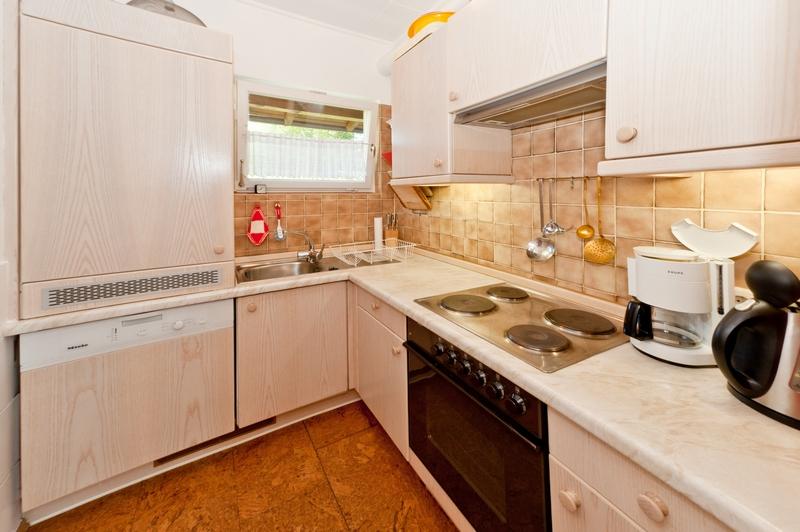 Küche:Die Küche ist komplett ausgestattet