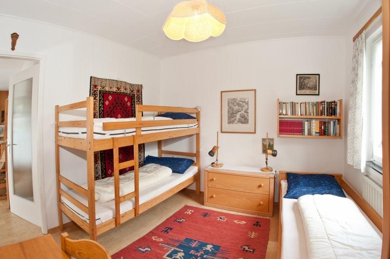 Kinderzimmer:Mit Stockbett und Einzelbett