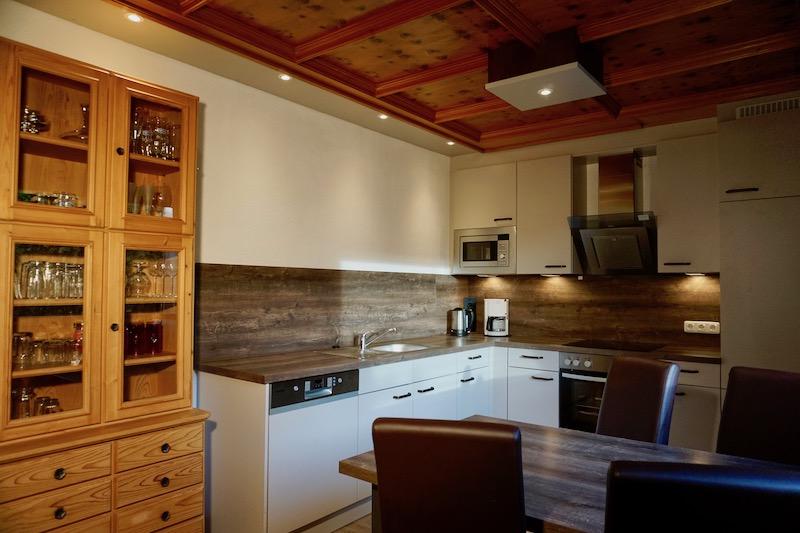 Küche:Die Küche wurde 2018 komplett renoviert