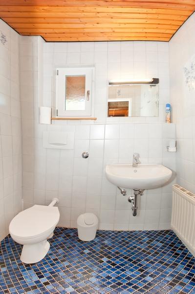 zweite Toilette: