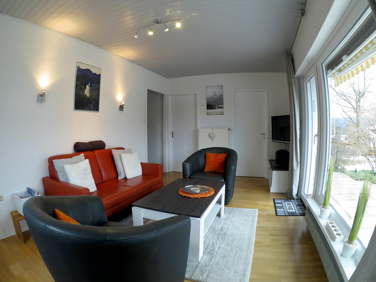 Wohnzimmer neu renoviert:Mit herrlichem Bergblick