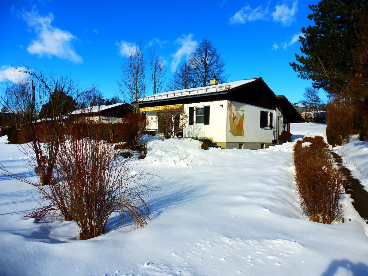 Das Haus im Winter 2021  :