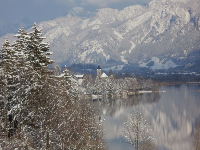 Winter am Weissensee: