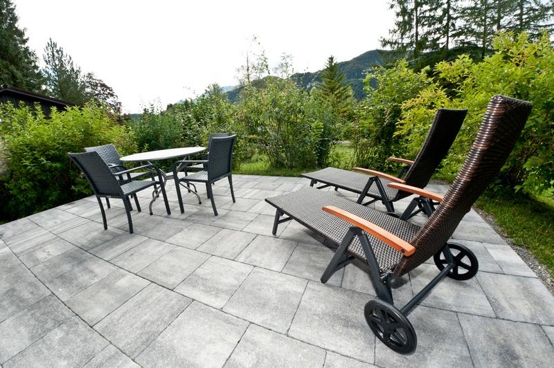 Terrasse:Ruhige Stunden auf der Terrasse