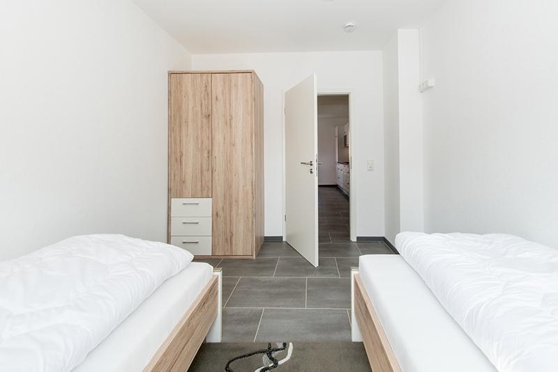 2. Schlafzimmer:2 Betten 90cm * 200cm