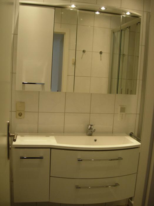 Waschtisch im Bad: