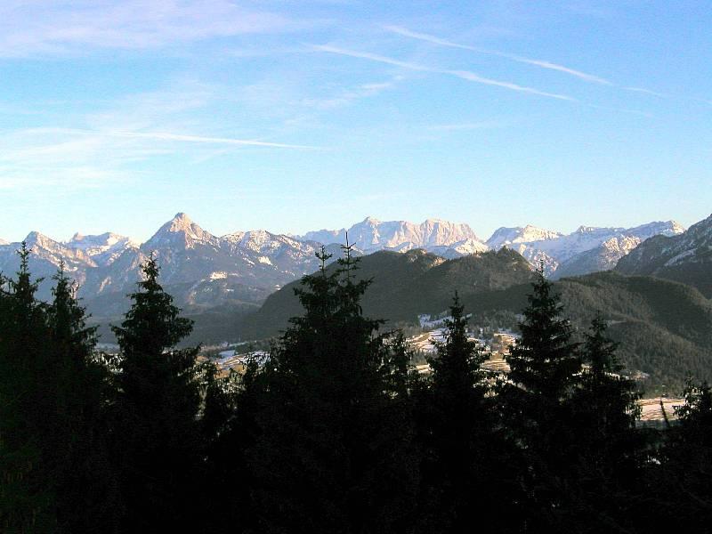:Schöne Aussicht auf die Allgäuer Alpen
