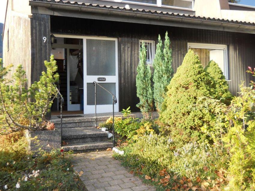 Hauseingang Herbst: